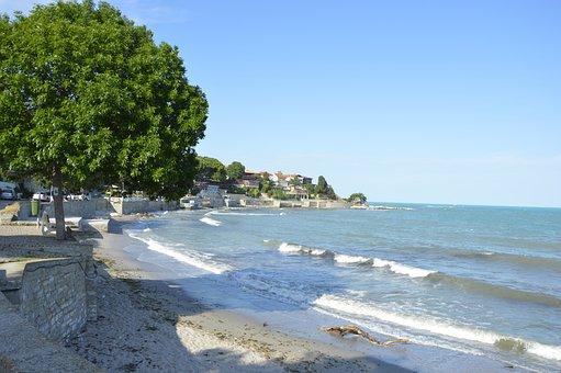 Bulgaria, Nessebar, Beach