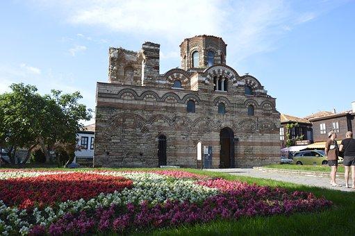 Bulgaria, Nessebar, Church, Sunny Beach