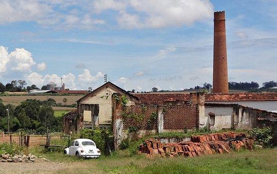Ruins, Ceramics, Power Plant
