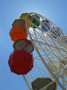 Ferris Wheel, Tibidabo, Spain, Costa Brava