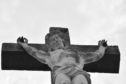 Statue, Cross Jesus Christ, Religious Monument, Belief