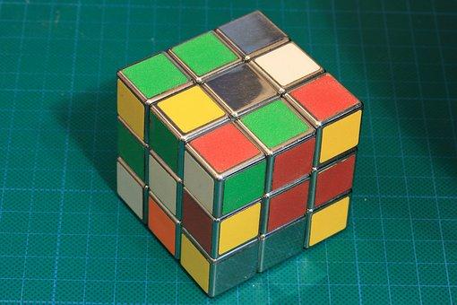 Rubik, Cube, Toy, Game, Challenge, Solving, Problem