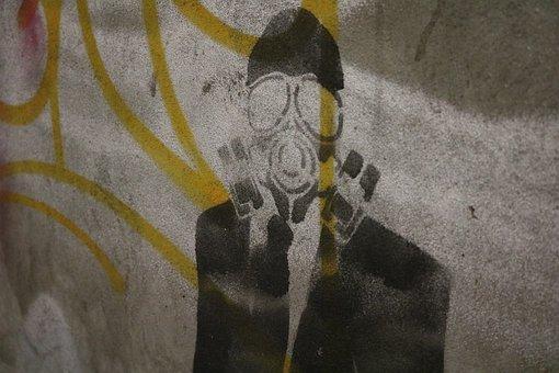 Graffiti, Human, Black, Violent, Show Me, Art, Sprayer
