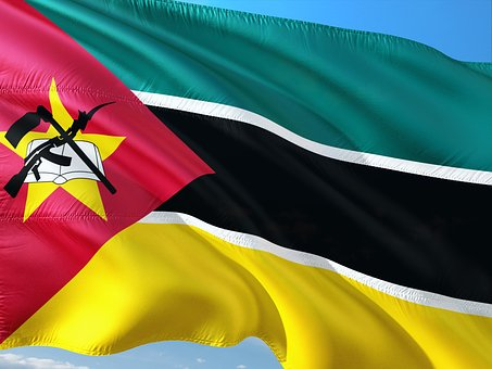 International, Flag, Mozambique, State