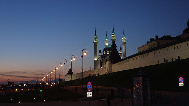 Kazan, Russia, Qolsharif Mosque, Mosque, The Kremlin