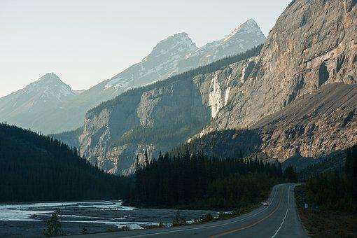Road, Mountains, Highway, Landscape, Nature