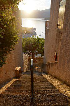 Provence, Street, Staircase, Old Village, Pierre, Lane