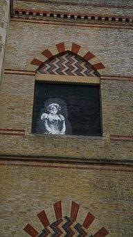 Street, Wall, Art, Princess Diana, Croydon, London