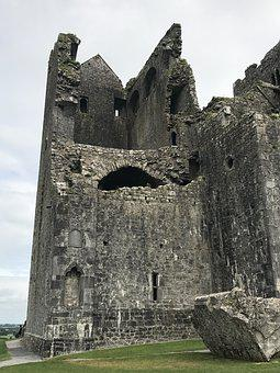 Ireland, Holiday, Ruin, Castle, Fortress, Church, Tower