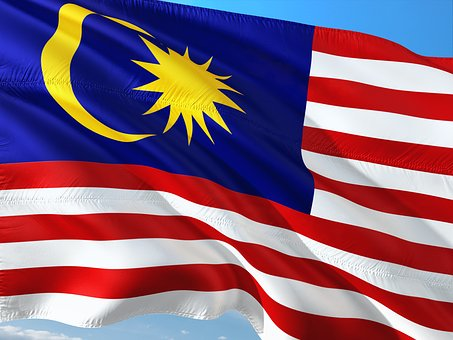 International, Flag, Malaysia, State, South East Asia