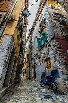 Croatia, Rovinj, Sunset, City, Venice, Eng, Streets