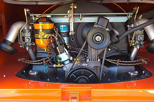 Car, Vw, Bug, Volkswagon, Steering Wheel, Dash, Auto