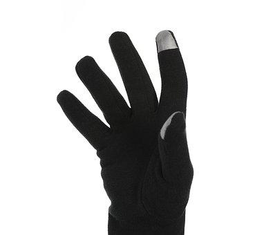 Four, Black, El, Glove, Cold, Winter, White Fund