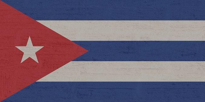 Cuba, Flag, Star, Blue, White, Red
