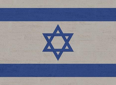 Israel, Flag, Star Of David, Blue, International, White