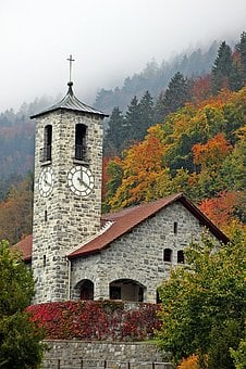 Church, God, Chapel, Cross, Religion, Christianity