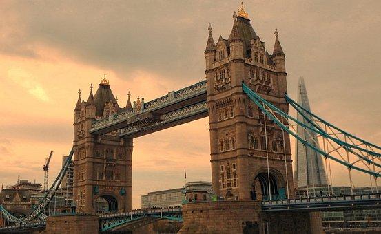 London, City, Tower Bridge, England, Travel, Uk, Urban