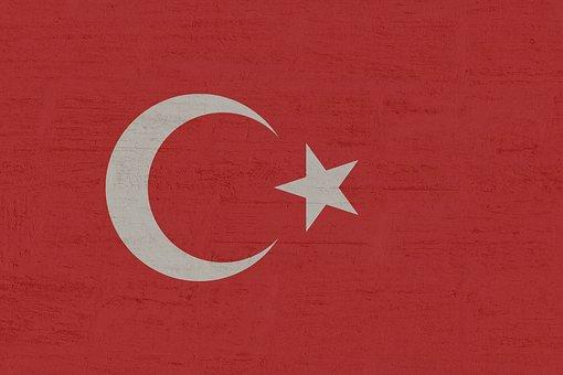 Turkey, Flag, Turkish, Crescent, Red, Istanbul
