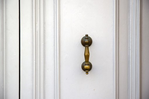 Door, White Door, Background, White, Painting, House