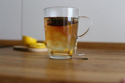 Tea, Lemons, Lemon, Black Tea, Drink, Cup, Hot
