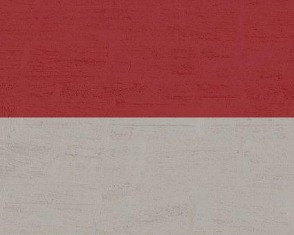 Monaco, Flag, Country, Red, White