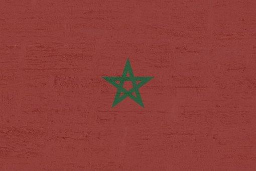Morocco, Flag, International, Star