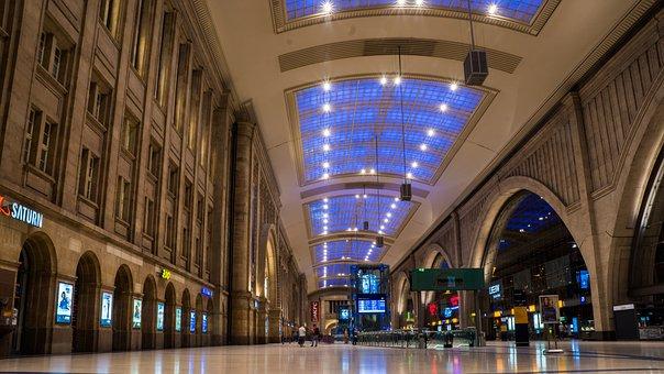 Leipzig, Central Station, Db