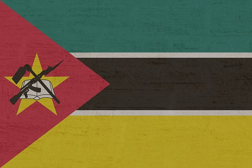 Mozambique, Flag, South East Africa