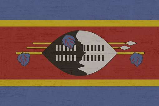 Swaziland, Flag, National Colours