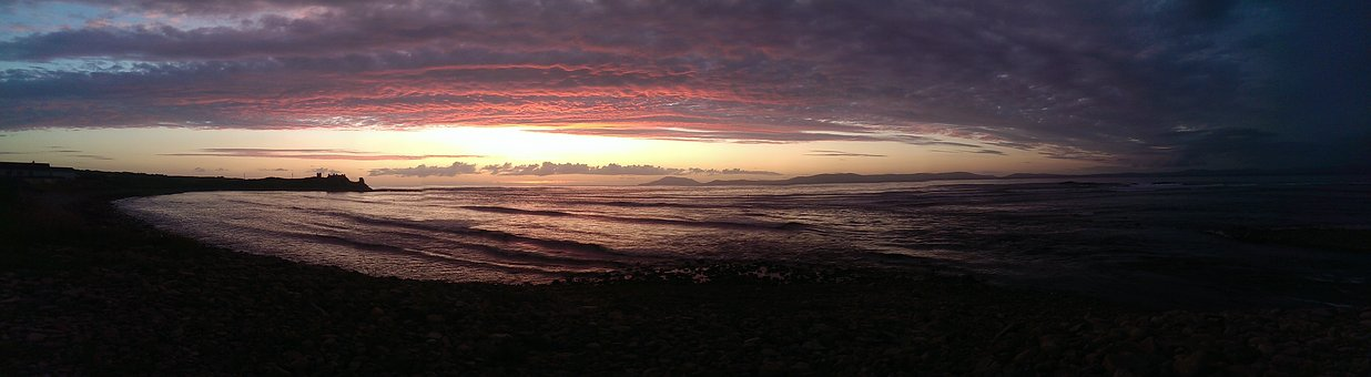 Leitrim, Tullaghan, Sunset, Sea, Water, Nature, Beach