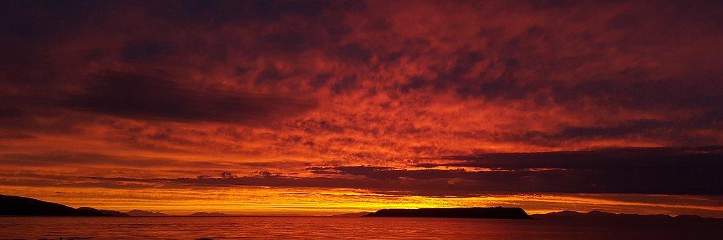 Sunset, Plimmerton, Nz