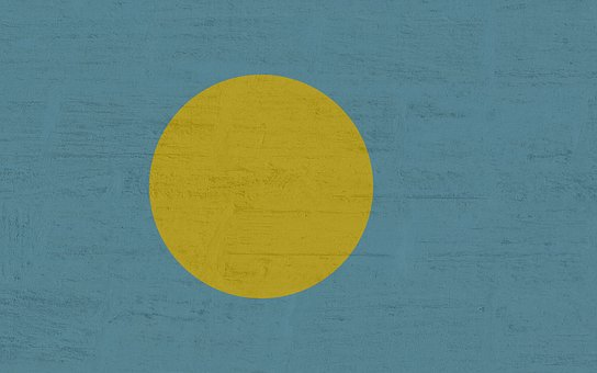 Palau, Flag, International