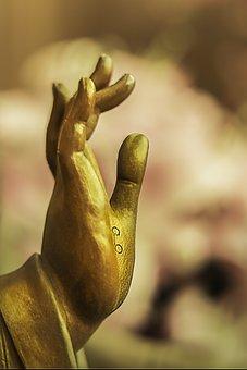 Hand, Statue, Symbol, Buddhism, Religion, Buddhist