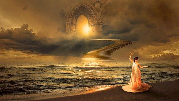 Fantasy, Sea, Mystical, Romantic, Fairy Tales