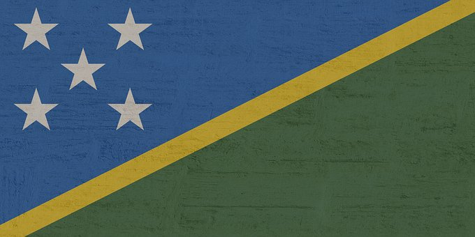 Solomon Islands, Flag, International
