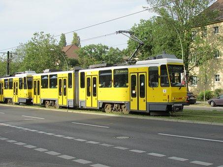 Tram, Berlin, Bvg, Capital