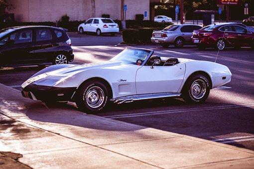 Corvette, Machine, Racing, Motor, Auto, Road, Tuning