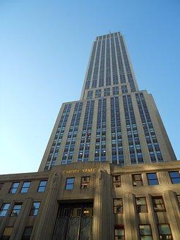 Empire State Building, New York, Manhattan, Usa, Ny