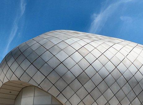 Architecture, Building, Arc, Dome, Construction, Modern