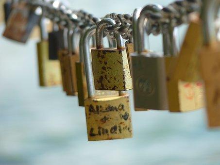 Love Locks, Love, Love Castle, Castle, Padlock
