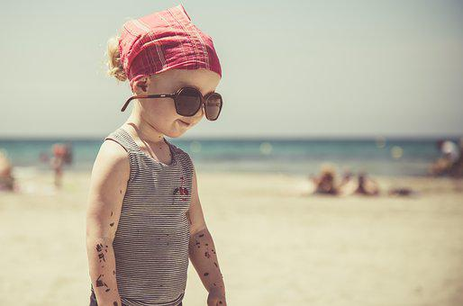 Beach, Child, Sea, Sand, Summer, Games, Holiday, Fun