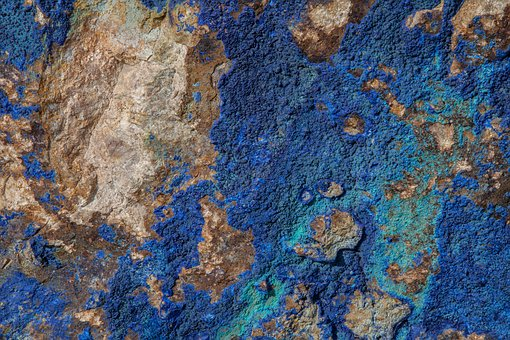 Texture, Blue, Stone, Rock, Azure, Dyed, Color