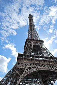 Paris, Icon, Eiffel, Travel, Famous, Romantic, Historic