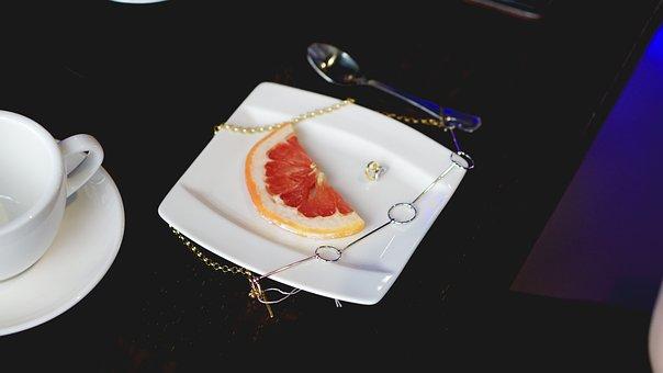 Instagram, Jewelry, Jewel, Plate, Citrus, Orange, Café