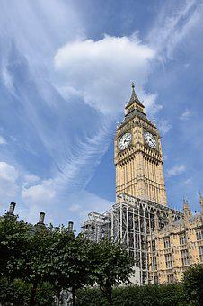 London, Big Ben, England, Places Of Interest, Landmark