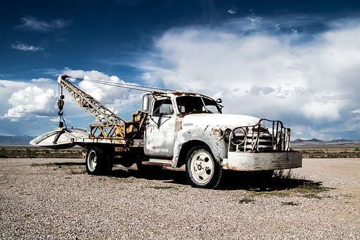 Usa, Pickup, Ufo, Nevada, Auto, Oldtimer, America