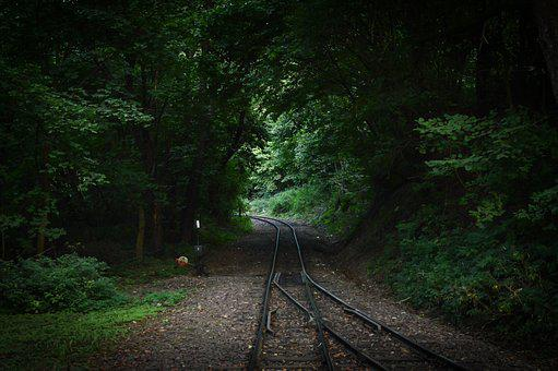 Szilvasvarad, Szalajka, Trees, Railway, Green, Nature