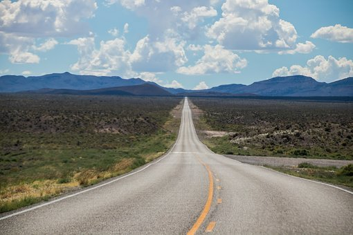 Highway, Usa, America, Clouds, 66, Road, Asphalt