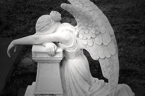 Angel, Cry, Crying, Sad, Sadness, Angelic, Winged, Wing