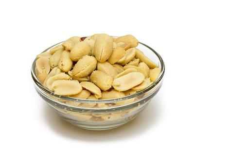 Peanuts, Snack, Appetizer, Salado, Dried Fruits, Bol